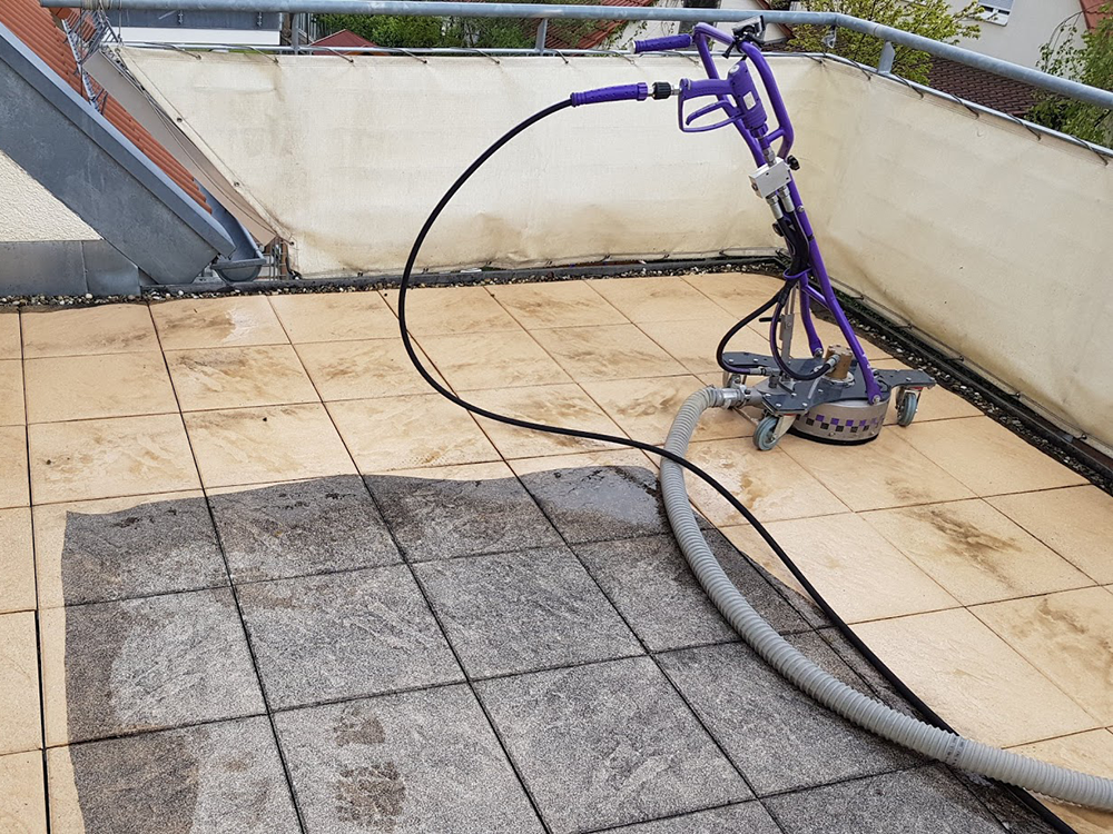 Terrassenplatten reinigen in Böblingen