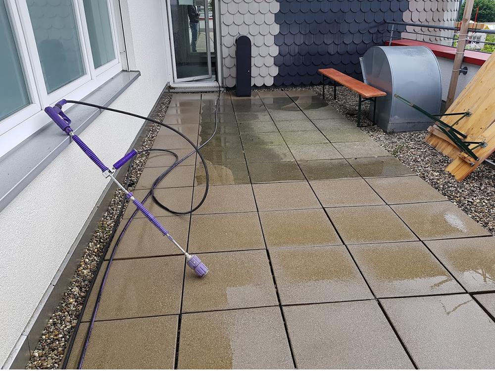 Terrasse reinigen in Sindelfingen