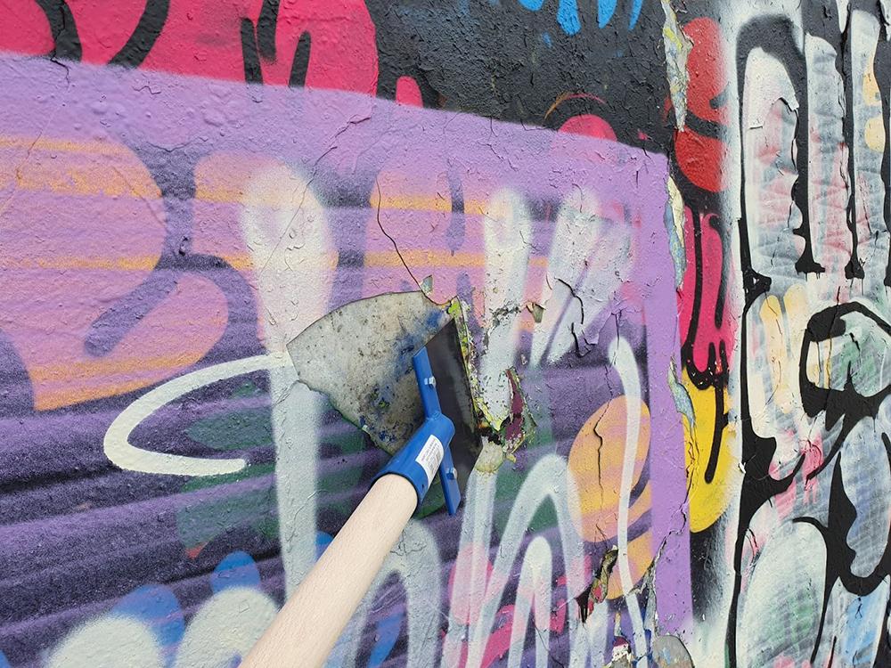 HDR ist der Graffitientferner in Stuttgart