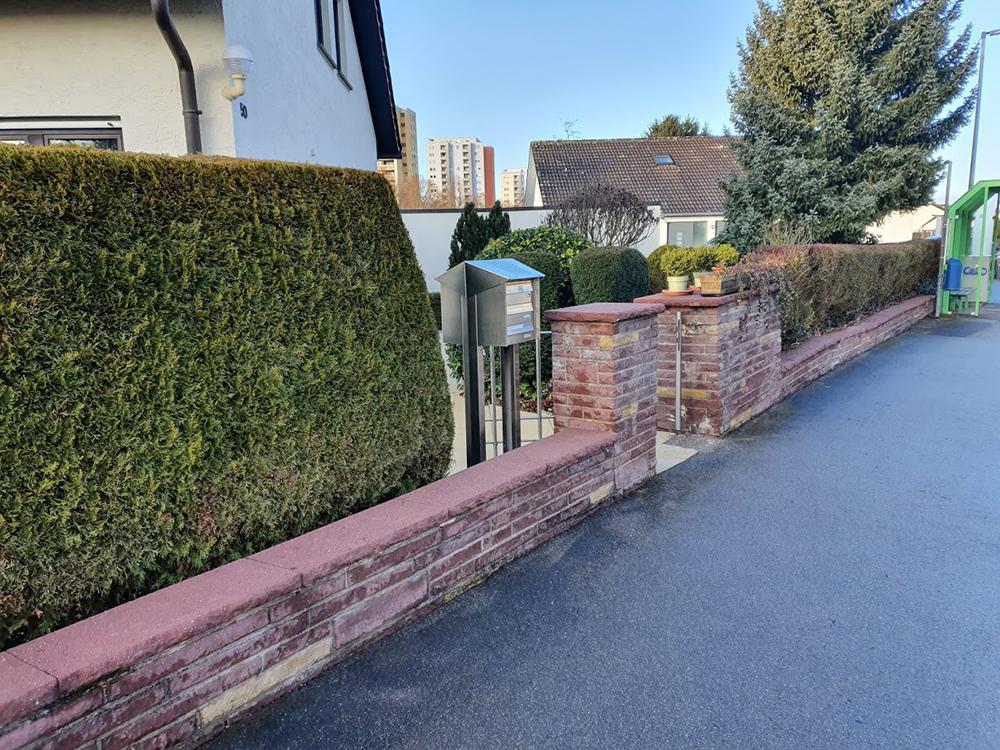 Reinigung Mauern Leonberg