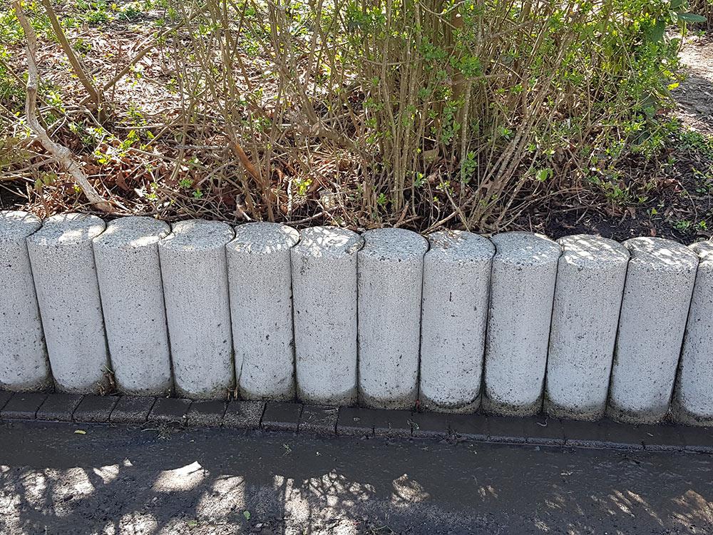 Beton Mauer reinigen lassen
