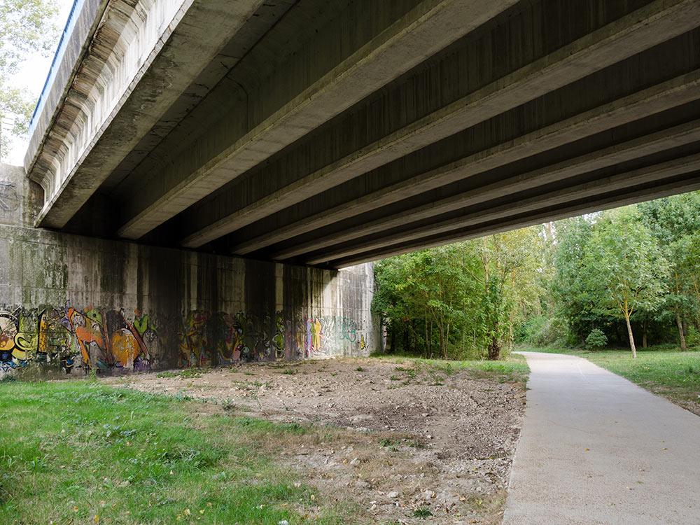 Brücken Reinigung Graffiti Esslingen