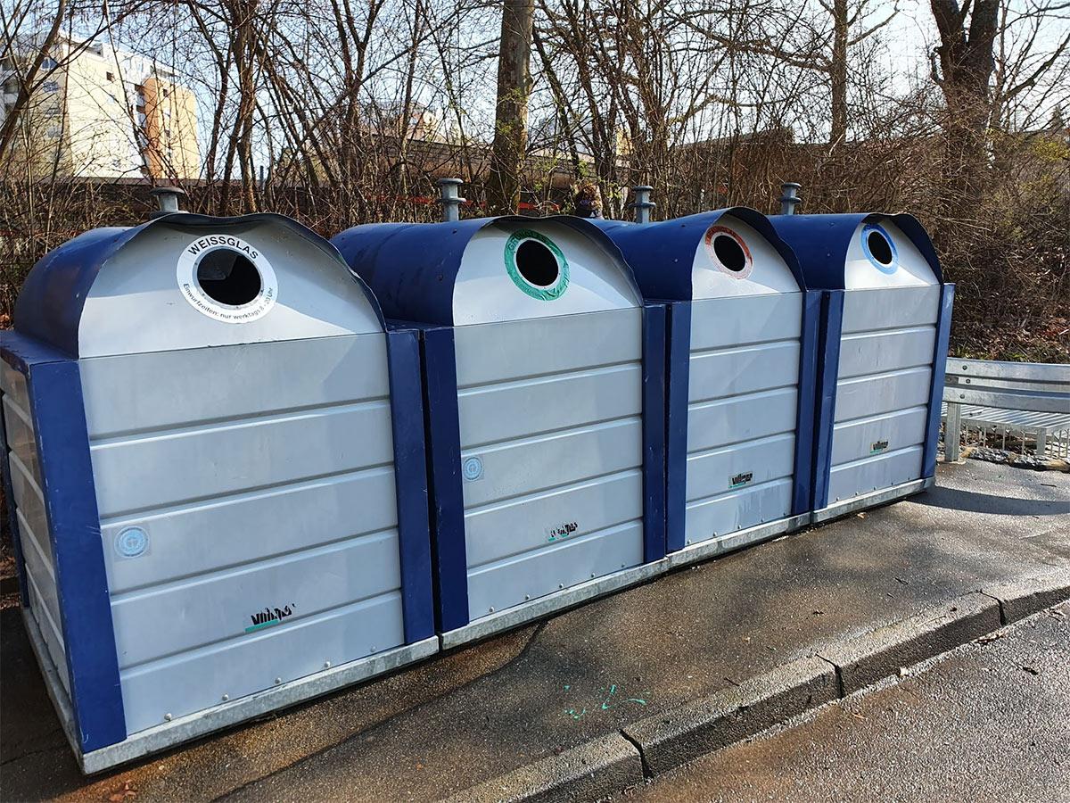 Container Reinigung - Abfall Container Reinigung