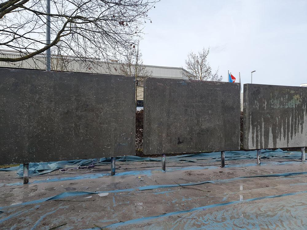 Graffiti & Sprayer Schriftzüge entfernen Esslingen