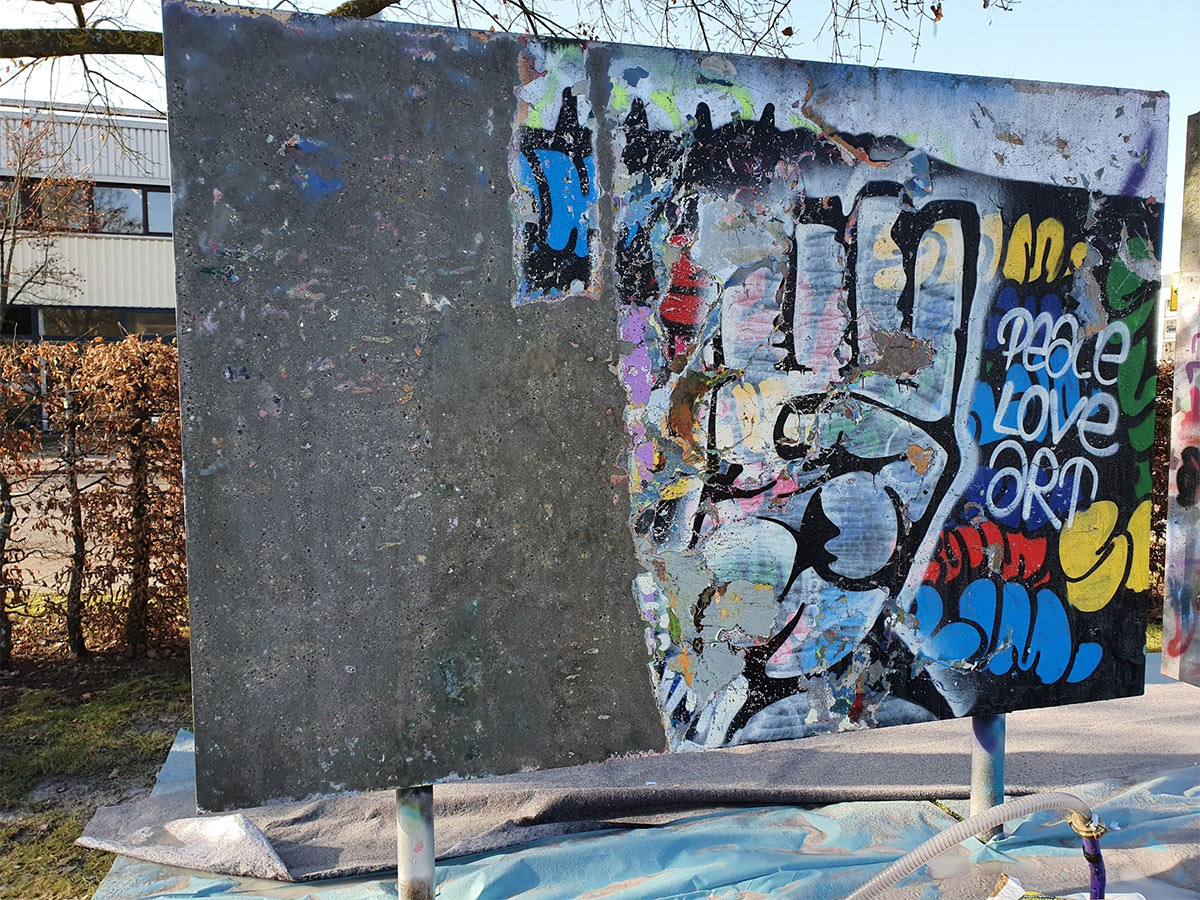 Graffiti Entfernung in der Region Stuttgart