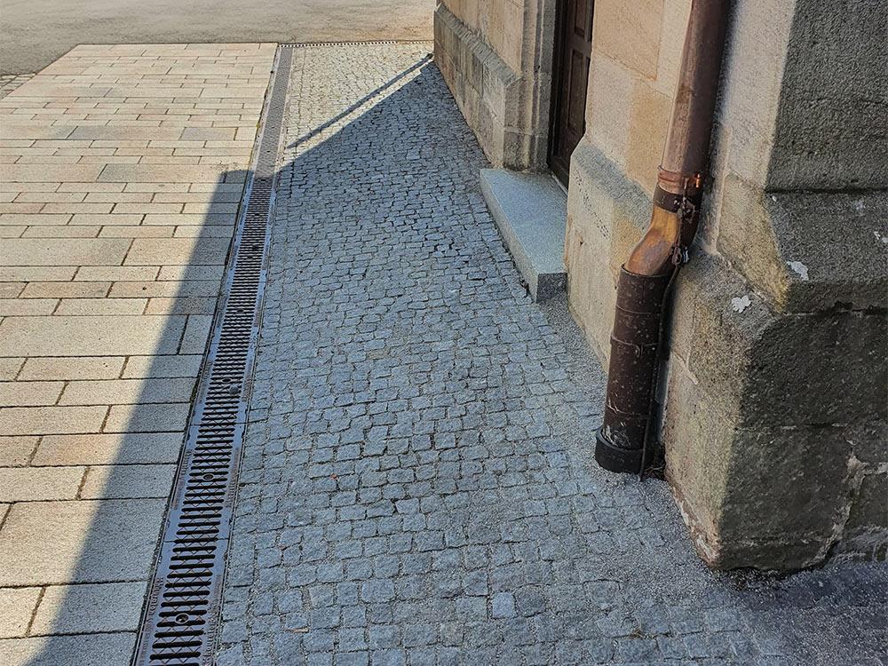 Kopfsteinpflaster Reinigung Tübingen