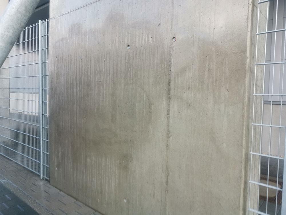 Graffiti beseitigen lassen