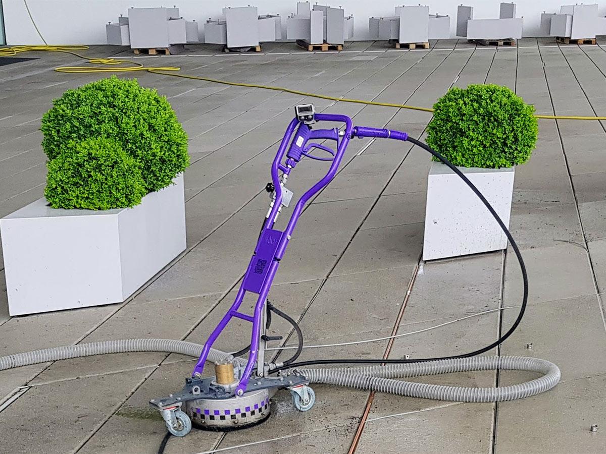 Parkplatz Reinigung und Platzreinigung