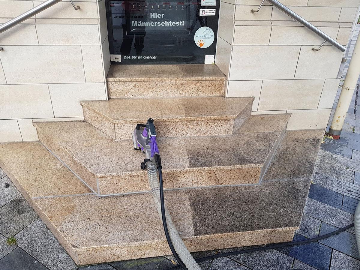 Treppen Reinigung kommerziell, öffentlich, privat
